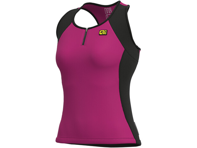 Alé Cycling Solid Color Block Top Sin Mangas Mujer, cyclamen